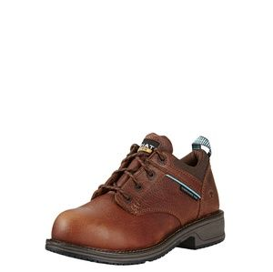 Ariat Composite Toe Leather Oxford Work Shoe